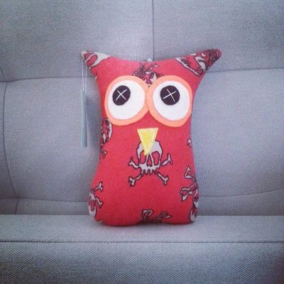 Boys Red Skull | 18cm Owl
