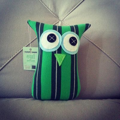 Superhero Green Boys | 18cm Owl