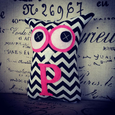 Personalised Letter | 18cm Owl