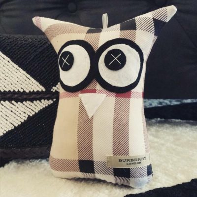 Burberry Patterned Branded! | 18cm Owl