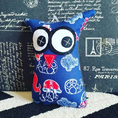 Blue Ocean Animals | 18cm Owl