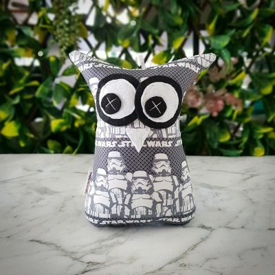 Grey Star Wars Owl Softie