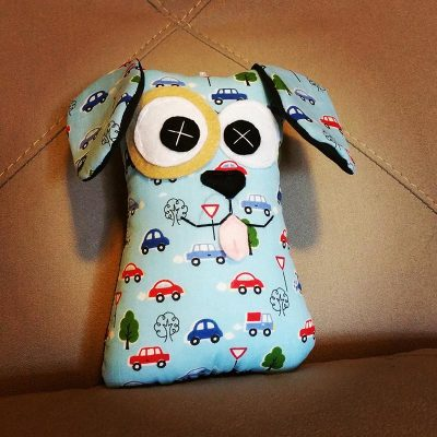 Blue Cars | 18cm Puppy