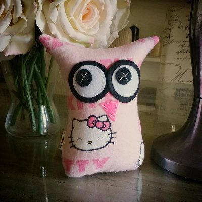 Hello Kitty Pink | 18cm Owl
