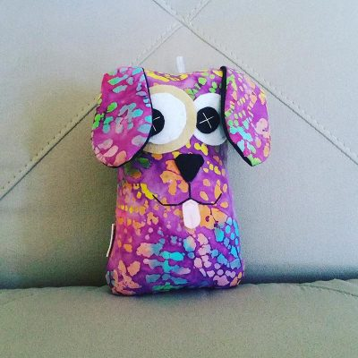 Colourful Tie Dye | 18cm Puppy