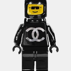 LegoMan Chanel Print